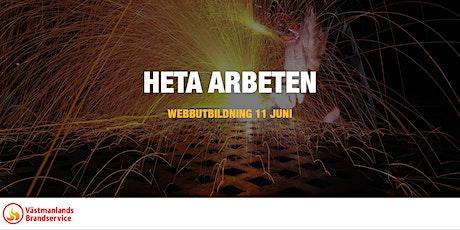 WEBBUTBILDNING: HETA ARBETEN tickets