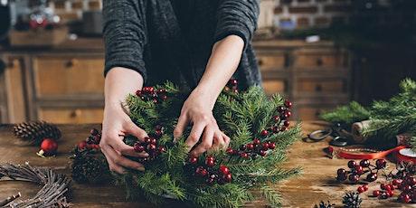 Holiday Wreath Workshop tickets