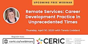 Free Webinar   Remote Services: Career Development...