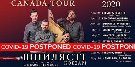 "Shpylyasti Kobzari  "" Ottawa Live Bandura Show"" tickets"