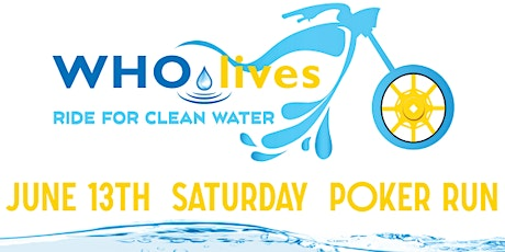 WHOlives Annual Ride for Clean Water 2020 tickets