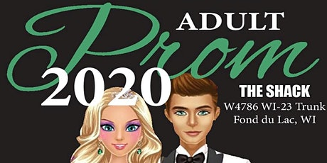 Bringing it back at the Shack: Adult Prom 2020 tickets