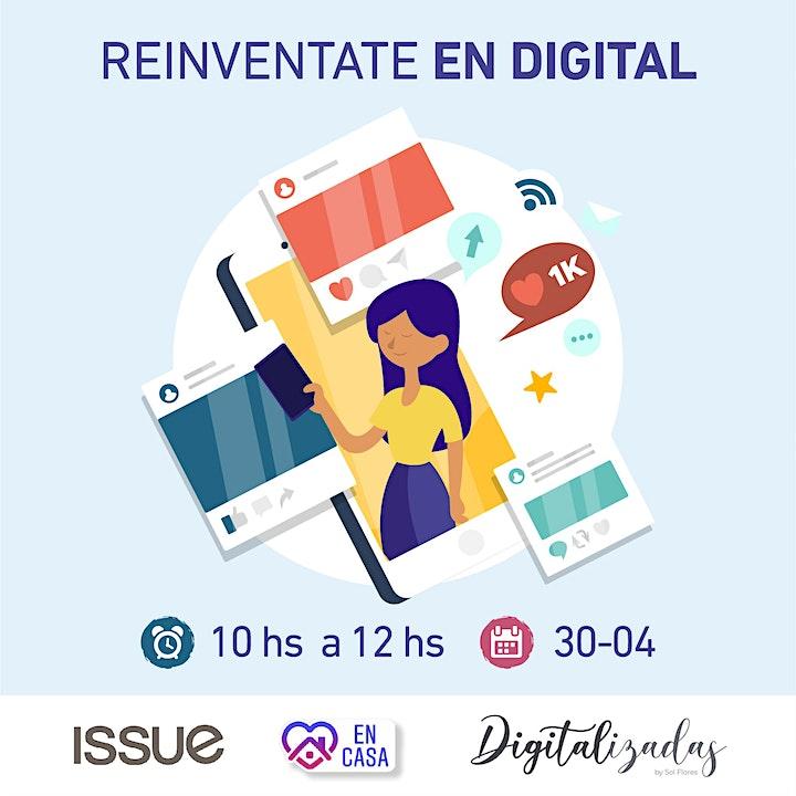 Imagen de Digitalizadas: Ciclo de Talleres Online para Reinventarte en Digital