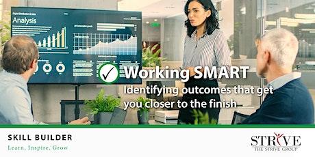 Skill Builder: Working SMART biglietti