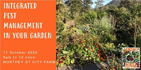Integrated Pest Management in your garden tickets