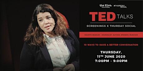 Thursday Social: Ted Talks Screening billets