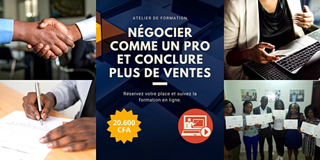 Négocier Comme Un Pro Et Conclure Plus De Ventes [Online Training] billets