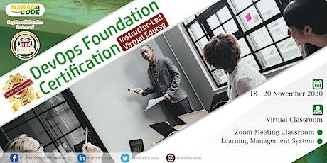 DevOps Foundation Training Jakarta, November 18th 2020 tickets