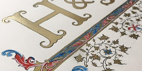 Learn Illuminated Lettering - 2 days tickets