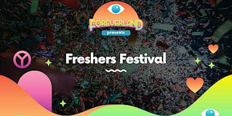 Foreverland Freshers Festival Manchester tickets