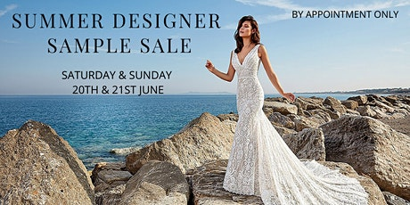 New Summer  Bridal Sample Sale Date Confirmed! tickets
