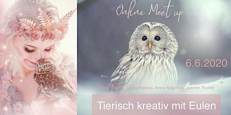 """Online Meet up """"Tierisch Kreativ mit Eulen"""" Tickets"""