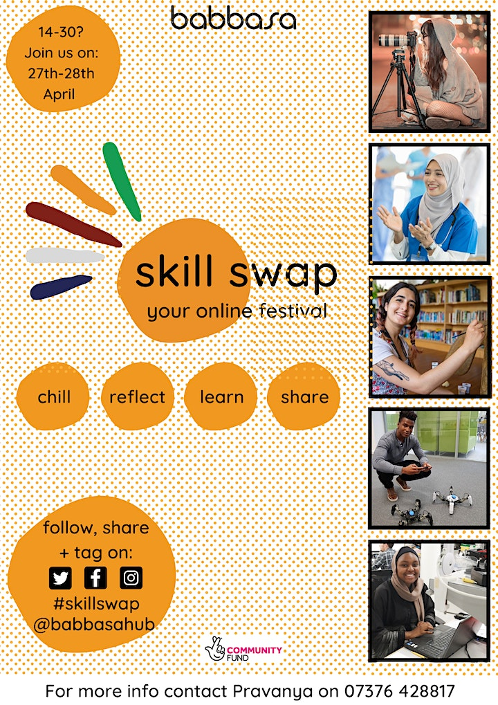 Babbasa's Skill Swap - The Online Festival For You! image