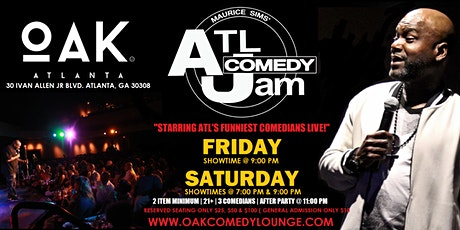 ATL Comedy Jam @ Oak Lounge tickets