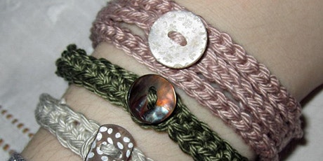Beginners Crochet LIVE | Button Up Bracelets Workshop tickets