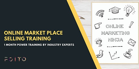 Online Marketplace Selling Training tickets