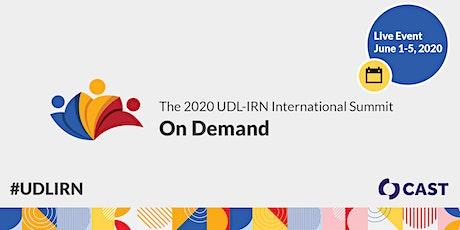 2020 UDL-IRN Summit On-Demand tickets