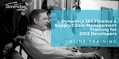 Dynamics 365 Finance and Supply Chain Management Training for AX 2012 Developers - Online training tickets