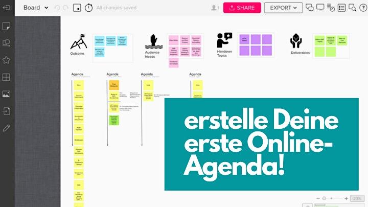 Outcome Oriented Workshops - REMOTE EDITON: Bild