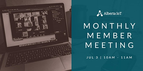 Monthly Member Meeting - July tickets