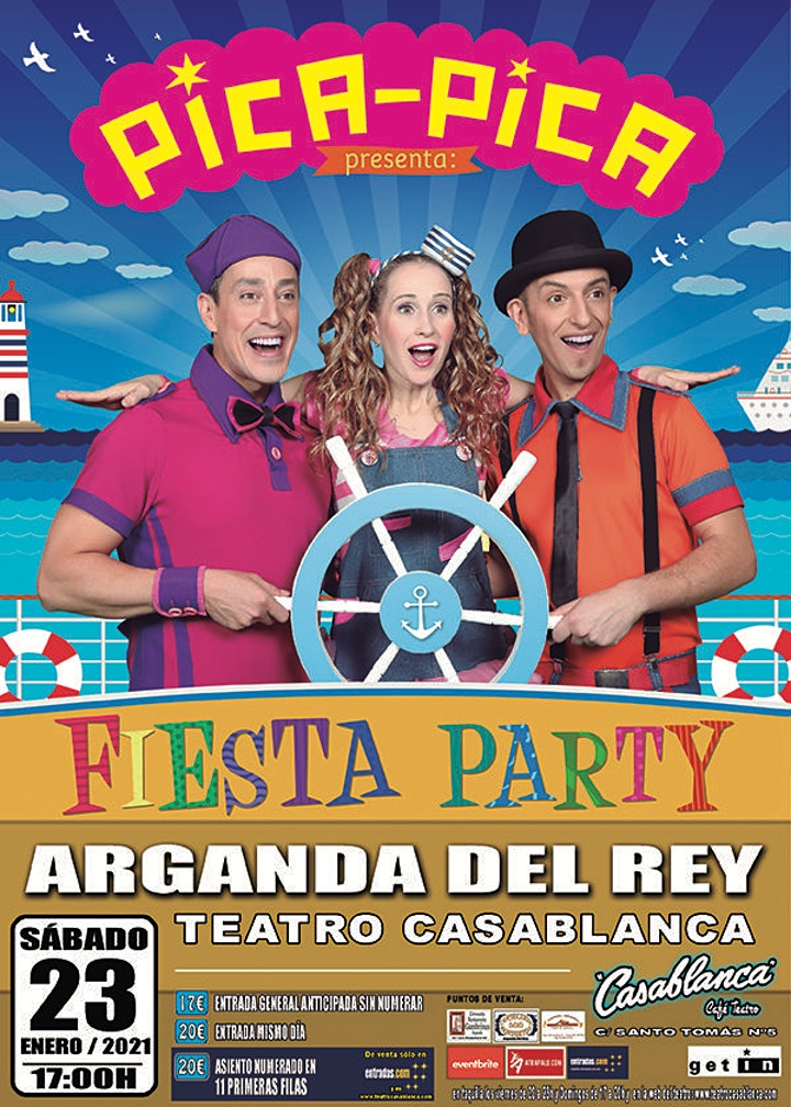 Imagen de PICA PICA: FIESTA PARTY en Arganda del Rey