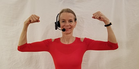 Online Exercise Class Mon, Wed, Friday 10-11am: Cardio, HIIT, Light Weights (thru Zoom.us.com) tickets