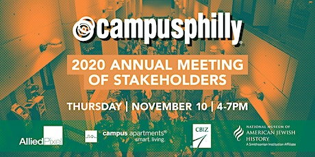 Campus Philly Annual Meeting 2020 tickets