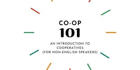 Una introducción a las cooperativas/Une introduction aux coopératives tickets
