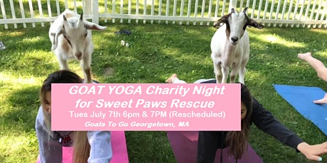 Charity GOAT YOGA (Sweet Paws Rescue) tickets