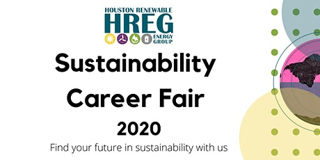 Sustainability Career Fair 2020, Hosted by Houston Renewable Energy Group tickets