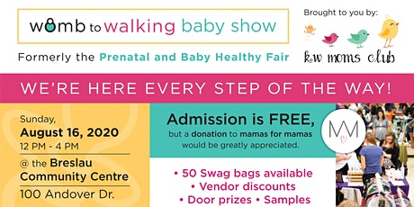 Womb to Walking Baby Show hosted by KW Moms Club tickets