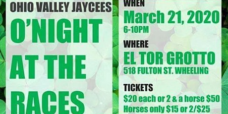 Postponed Till July 18th O'Night at the Races 2020 tickets