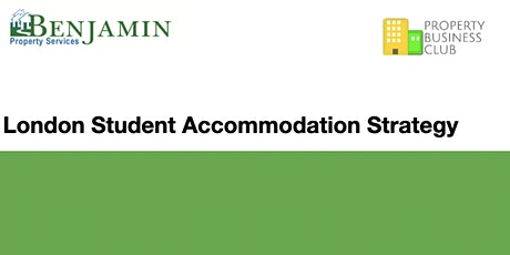 Video & Presentation: Student Accommodation Strategy - Instant Access tickets