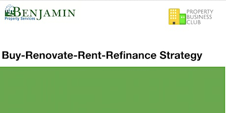 Webinar: Buy, Renovate, Rent, Refinance (BRRR) Strategy - Instant Access tickets