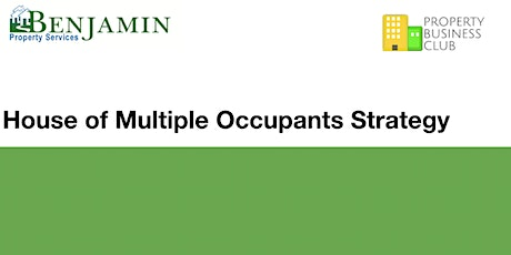 Webinar: House of Multiple Occupants Strategy - Instant Access tickets