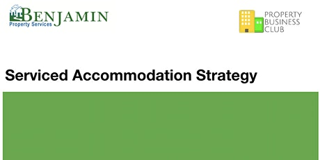 Presentation: Serviced Accommodation/Apartments Strategy - Instant Access tickets