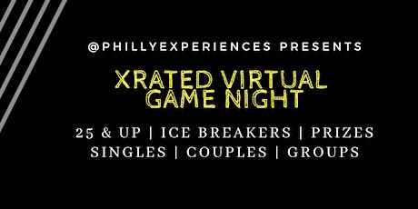 X Rated Virtual Game Night tickets