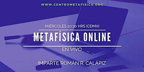 EL PODER ESTÁ EN TI: Metafísica Online- EN VIVO Y EN DIRECTO tickets