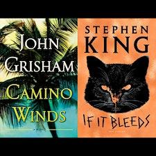 John Grisham-Stephen King logo