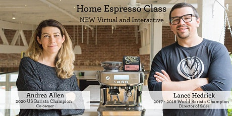 Bringing Coffee Home - The Fundamentals of Espresso tickets