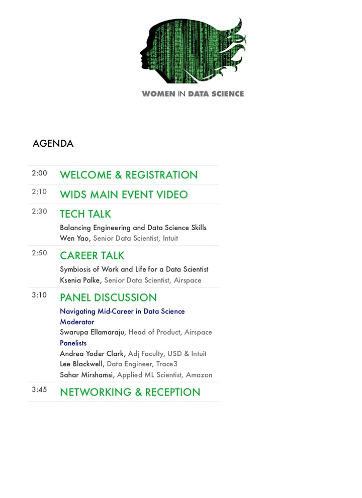WiDS  San Diego @Airspace - Virtual Event image