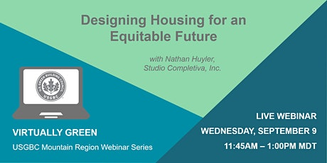 Designing Housing for an Equitable Future tickets