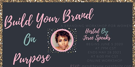 Building Your Brand On Purpose tickets