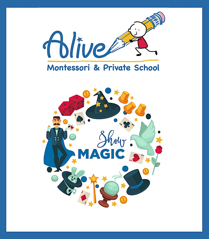 Free Online Magic Show for Kids-Friday, June 12th at 4:30 PM image