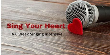 Sing Your Heart! 6 Week Singing Program tickets