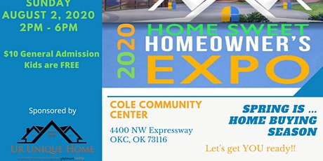 SPRING 2020 Home SWEET Home Owners EXPO tickets