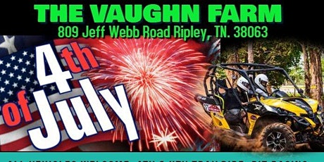 4th of July Ride tickets