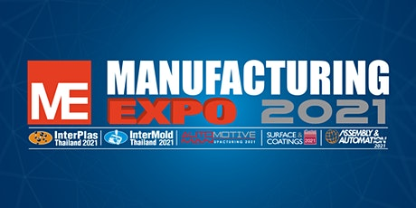 Manufacturing Expo 2021 tickets
