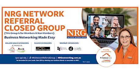 NRG Brisbane  - ZOOM ONLY tickets