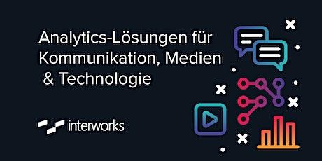 Webinar: Analytics-Lösungen für Kommunikation, Medien & Technologie Tickets